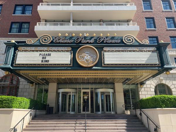 The Chase Park Plaza Cinemas is a part of St. Louis Cinemas. Operator Harmon Moseley said the theater will implement safety measures to protect customers when it reopens.