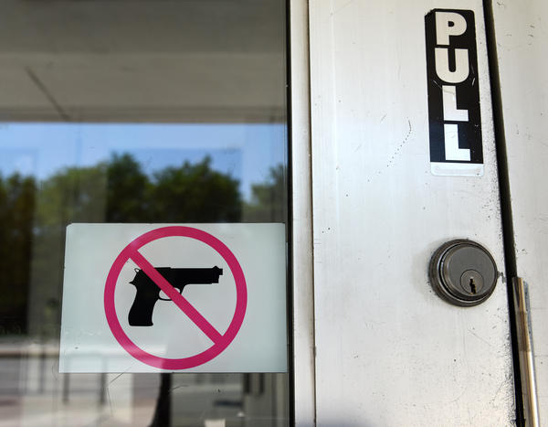 After some protesters angry at Governor Whitmer's stay at home order entered the Capitol building with firearms, some in Lansing are calling for a ban on guns in the building.