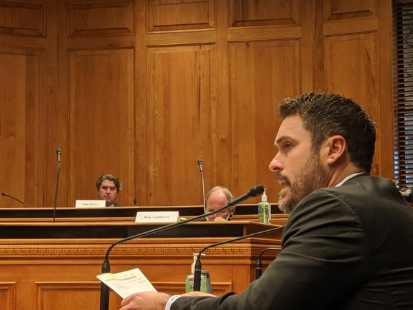 Republican Rep. Blake Miguez argues for more local control during the coronavirus pandemic. His bill would prevent Gov. Edwards from extending the stay-at-home order, which is set to expire May 15.