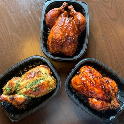 Essence Restaurant Group in Grand Rapids closed their farm-to-table restaurant Grove after the stay at home order took effect. Now, they've reopned it as a takeout focused roast chicken joint called Jimmy Berger's Chicken Shack.