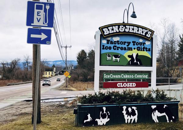 Ben & Jerry's makes ice cream at its plant in Waterbury.  The major tourist attaction is closed due to the COVID-19 pandemic, and in the meantime, a federal judge has dismissed a lawsuit alleging the ice cream company misleads consumers about its cows.