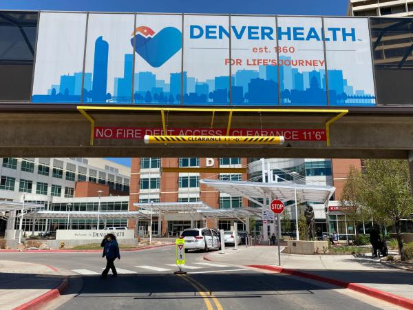 Denver Health is home to the region's only hospital-based violence intervention program, but outreach workers aren't allowed inside due to coronavirus-related restrictions.