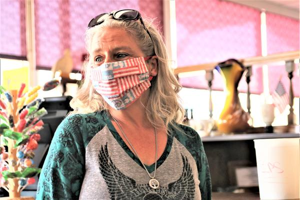 Sherri Calderwood has worked at a Topeka diner for 21 years but a health condition has her afraid to return during the COVID-19 pandemic.