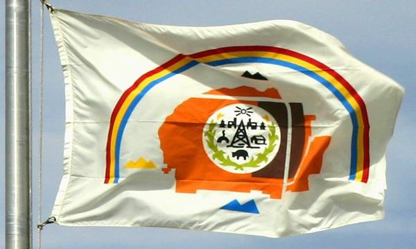 The Navajo Nation flag