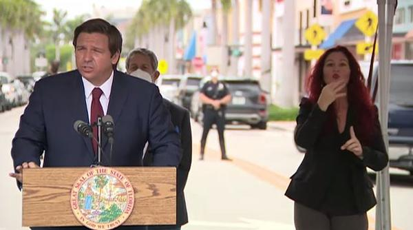 Gov. Ron DeSantis is expected to announce new measures that include allowing more people to be seated in restaurants and allowing gyms to operate.