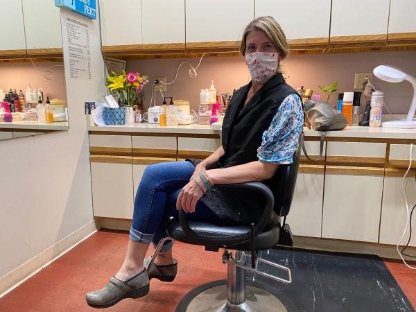 Carole Haidle it the owner of Missoula's Shear Perfection salon. Local guidelines require screenings, social distancing and strict new cleaning and sanitation regimes for salons and barber shops.