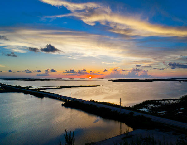 The natural beauty and subtropical climate of the Keys help hotels in the area lead the state in hotel occupancy and room rates.