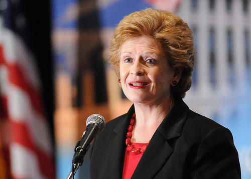 Senator Debbie Stabenow discusses the Democratic House leaders' proposed aid package that has opposition from top Republicans Senators.