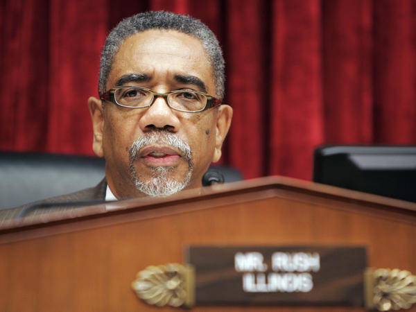 This Sept. 25, 2007 file photo shows Rep. Bobby Rush, D-Ill., delivering opening remarks during a hearing on Capitol Hill in Washington.