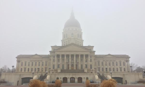 The Kansas Statehouse in Topeka.