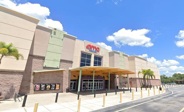 Movie theaters in Pinellas County, including AMC Woodlands in Oldsmar, will be allowed to reopen at 50 percent capacity.
