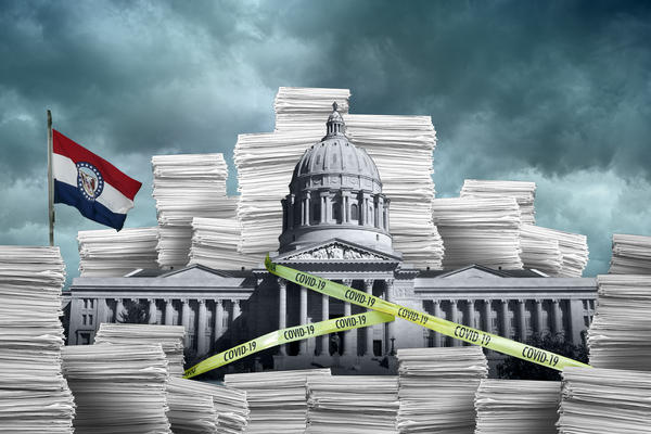 The Missouri General Assembly's 2020 session was shortened considerably due to concerns over COVID-19.