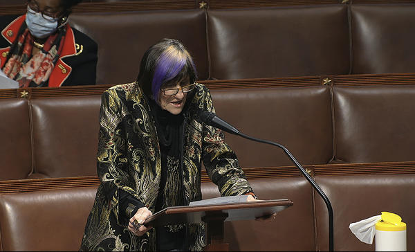 Rep. Rosa DeLauro of Connecticut is one of the progressive Democrats pushing to expand some of the safety net programs created since the coronavirus pandemic.