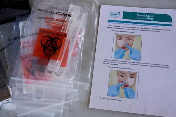 Coronavirus testing materials.