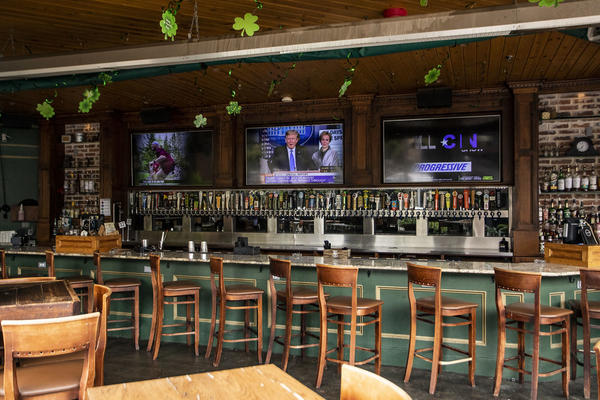 The governor has given the go-ahead for bars to open with capacity restrictions on Friday.