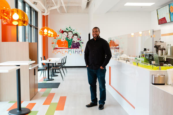 We talked to Jermale Eddie, owner of Malamiah Juice Bar and Eatery in Grand Rapids, about shifting his business model during the COVID-19 shutdown, and how businesses owned by people of color will face unique challenges recovering.