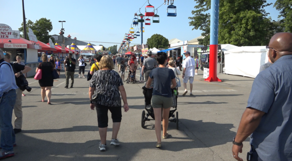 The Ohio State Fair opened last year on July 24. 934,925 people attended the fair last year, a slight increase over 2018.