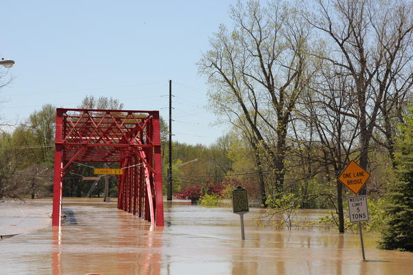 Residents of Midland County relocated to shelters as parts of the region were covered by several feet of water.