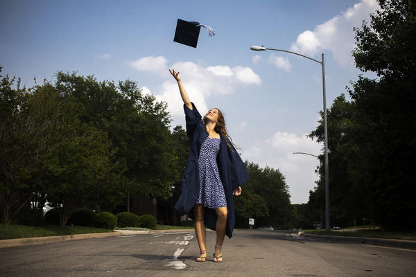 Ashlene Etkie is graduating this year from the Texas School for the Deaf. She plans to attend Gallaudet University in Washington, D.C., in the fall.