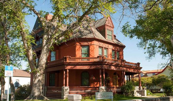 The governor's mansion in Helena, Mont.