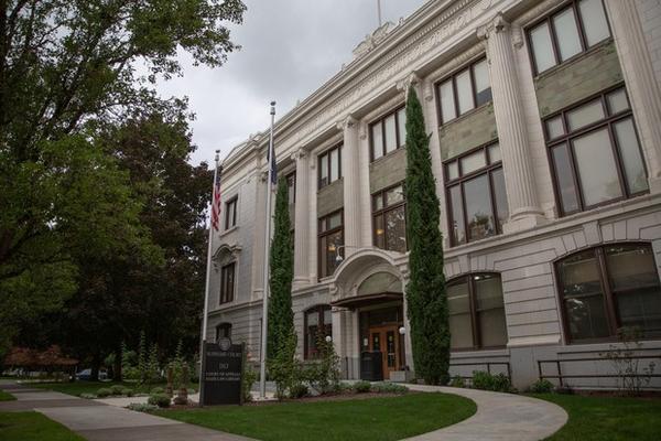 The Oregon Supreme Court in Salem, Ore., on Sept. 26, 2019.