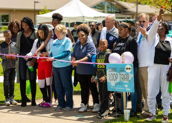 A trail around Summit Lake is one of the projects funded by the Reimagining Civic Commons initiative. The effort in Akron has received another $1.6 million in support.