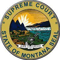 The Montana Supreme Court seal