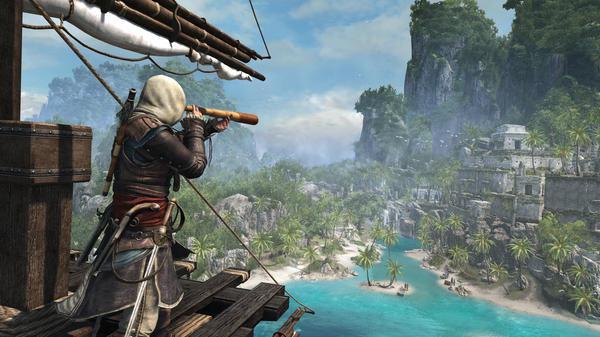 Columnist Kaity Kline says a serious <em>Assassin's Creed: Black Flag</em> habit helped her ace a surprise quiz on the Caribbean.