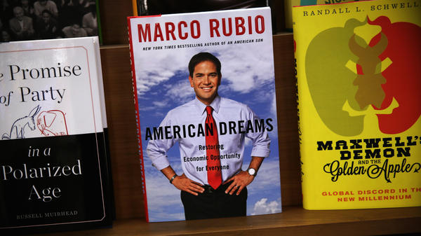 Marco Rubio's second book is titled <em>American Dreams: Restoring Economic Opportunity for Everyone</em>.