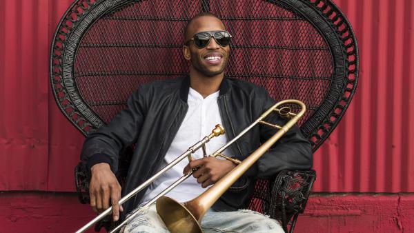 Trombone Shorty's new album, <em>Parking Lot Symphony</em>, comes out April 28.