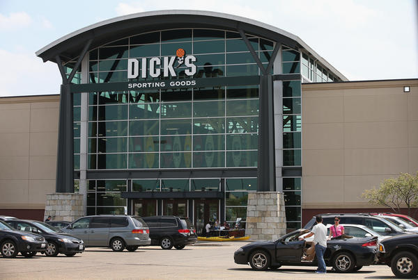 "A statement from Dick's Sporting Goods said, ""We have to help solve the problem that's in front of us. Gun violence is an epidemic."""