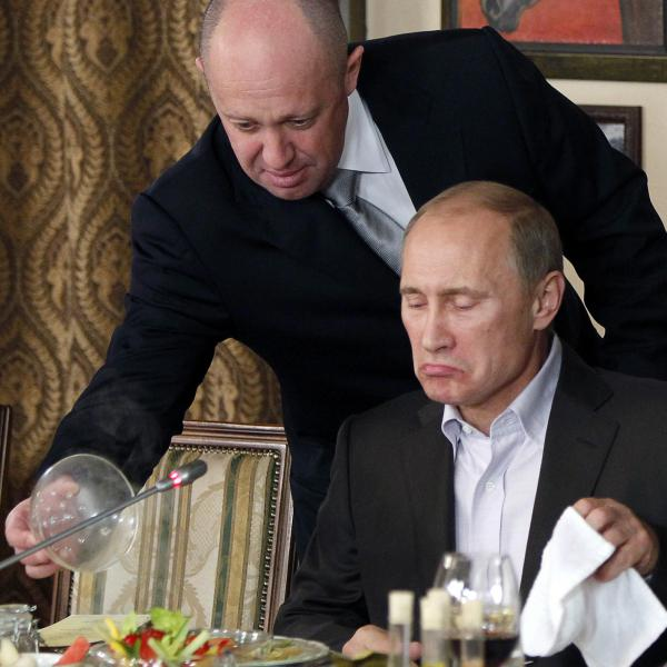 "An attorney defending Yevgeny Prigozhin, left, dubbed the ""cook"" to Russian Prime Minister Vladimir Putin, said he intended to fight vigorously against charges brought by the special counsel's office."