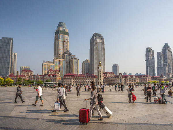 Tianjin, in northern China, is home to Tianjin University, an international research center that recently hired an American to lead its school of pharmaceutical science and technology. He recruits students from all over the world, he says, and the program's classes are taught in English.