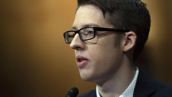 "Ethan Lindenberger of Norwalk, Ohio, told senators ""the information in defense of vaccines outweighed the concerns heavily."""