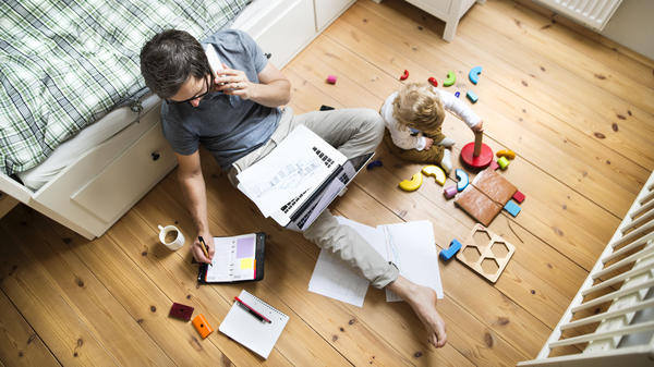 The coronavirus is raising a lot of questions for parents, like what does it mean to work from home while parenting young children?
