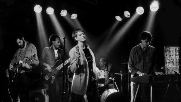 "Tiny Desk Unit - 9:30 Club circa 1980 (Michael Barron, Terry Baker, Susan Mumford, Lorenzo ""Pee Wee"" Jones, Bob Boilen"