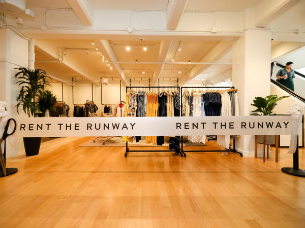 Rent the Runway has temporarily closed stores during the pandemic as customers have shied away from using its clothing rental service.