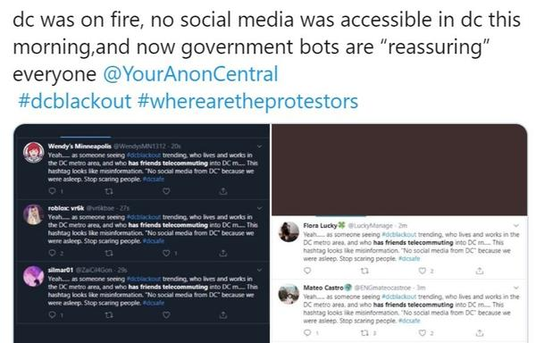 A fake story began circulating online before it was disputed by journalists as well as a number of bots. Experts say the campaign may have been intended to make people question whether anything they see online is true.