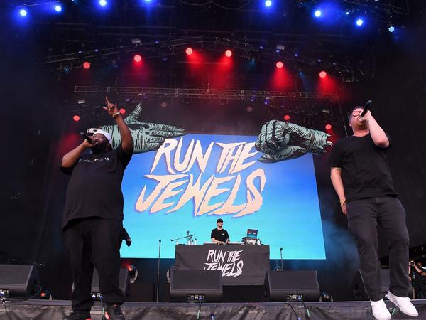 Run the Jewels perform in 2017.