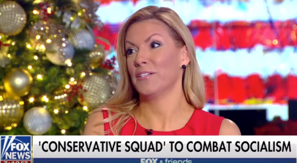 "Beth Van Duyne, former mayor of Irving, appeared on Fox and Friends with the ""conservative squad."""