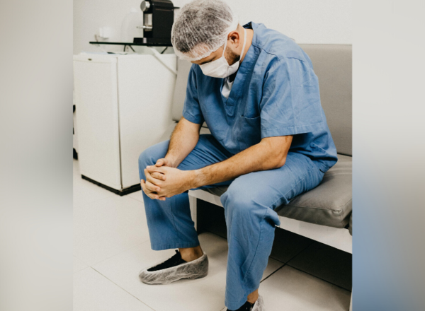 Some frontline healthcare workers who endured prolonged stress and trauma treating COVID-19 patients now face PTSD and other mental health challenges.