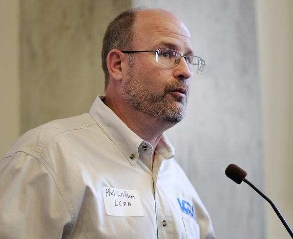 Phil Wilson heads the Lower Colorado River Authority, and also leads the coronavirus response for Texas' Health and Human Services Commission.