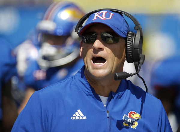 Former University of Kansas head football coach David Beaty is suing KU Athletics for $3 million in a contract dispute.