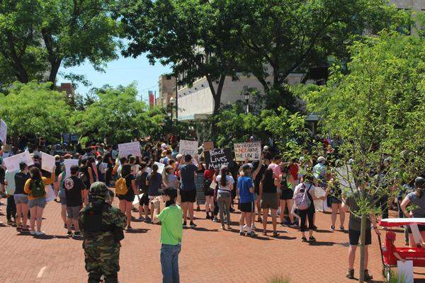 Protest Rally on Park Central Square June 6