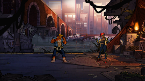 Axel Stone and friends return to clean up the streets once again in <em>Streets of Rage 4. </em>