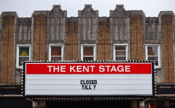 Like all music venues, The Kent Stage has been closed since mid-March.