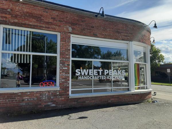 Sweet Peaks Ice Cream Shop in Bozeman, photographed June 10, 2020.
