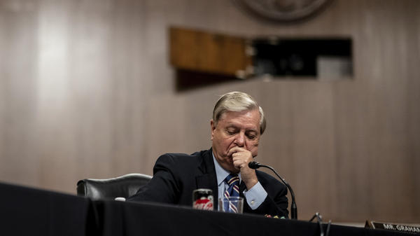 Senate Judiciary Committee Chairman Lindsey Graham, R-S.C., pictured last week, acknowledged how differently he, as a white man, views his interactions with police than do African Americans.