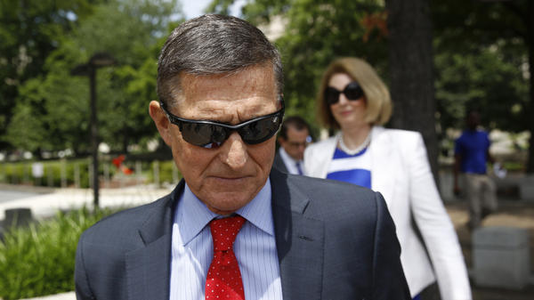 Former Trump national security adviser Michael Flynn, pictured in June 2019, had a hearing on Friday about the government's effort to drop its case against him.