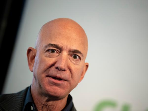Amazon confirmed to NPR on Monday that it would make Jeff Bezos available to testify at a hearing with other CEOs this summer.